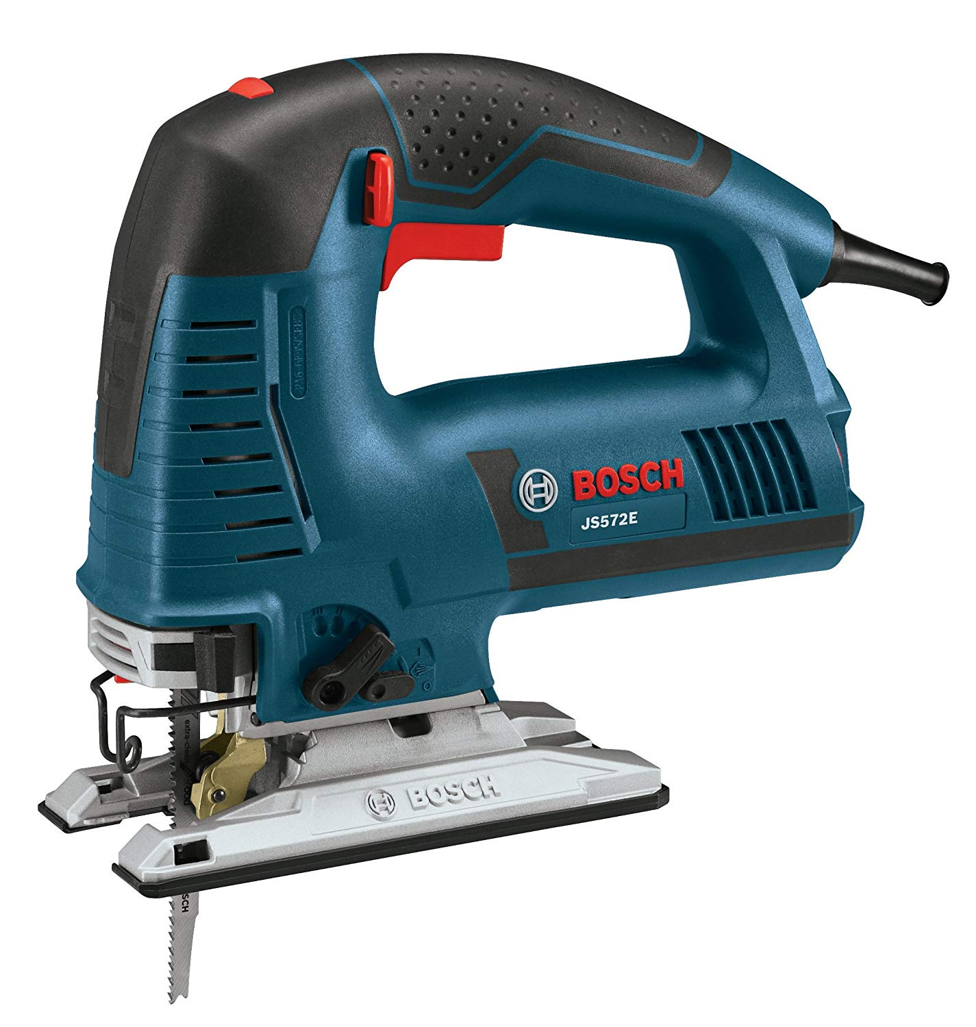 Bosch Power Tools Jigsaw Kit - JS572EK - 7.2 Amp Top-Handle Jig Saw Kit For Woodworkers, Kitchen, Bathroom Installers, Contractors