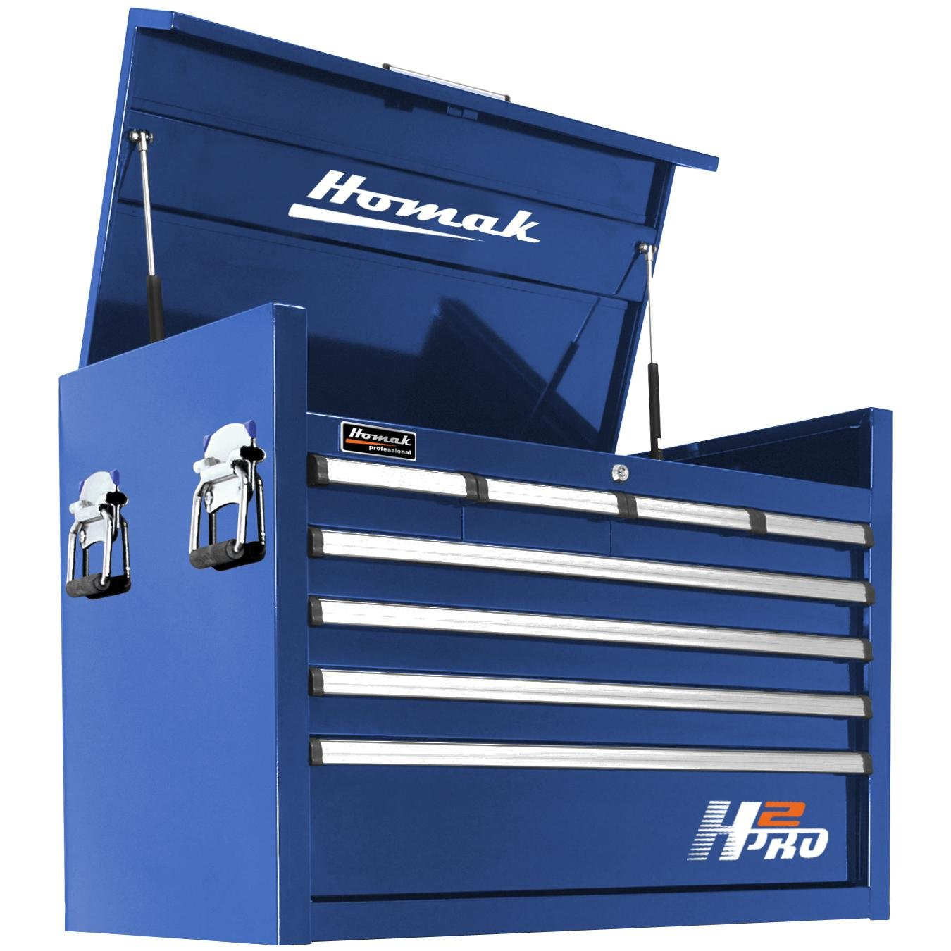 Homak H2PRO Series 36-Inch 8-Drawer Top Chest
